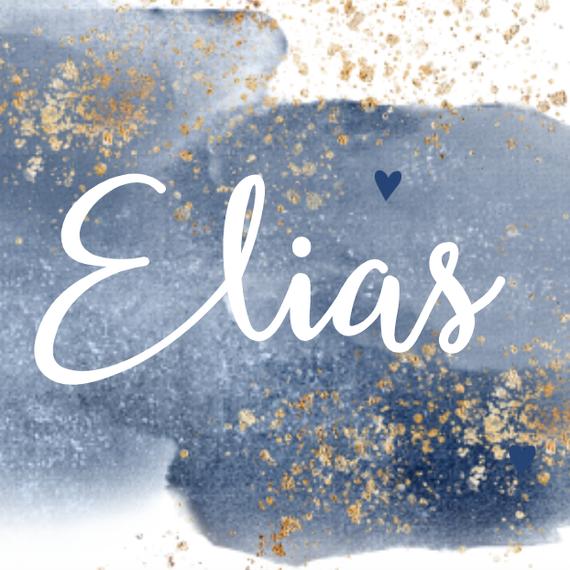 Elias is geboren!