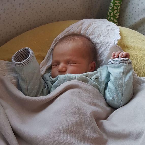 Geboorte Basiel Van de Steene
